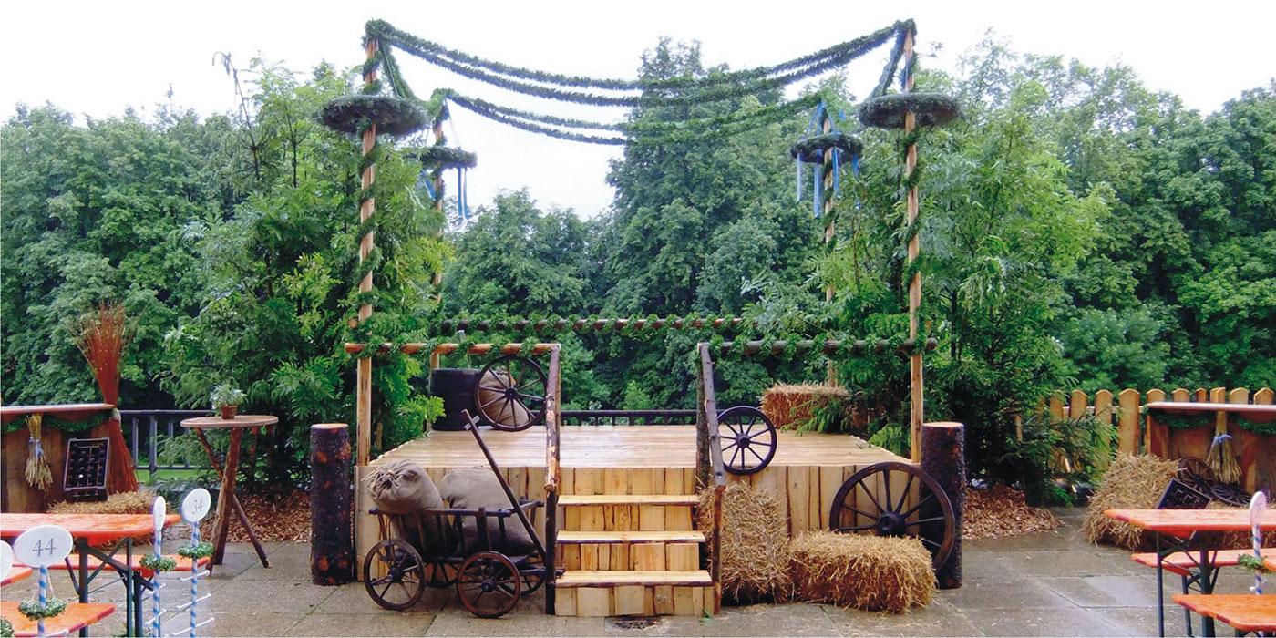 Veranstaltungsbau Bühne